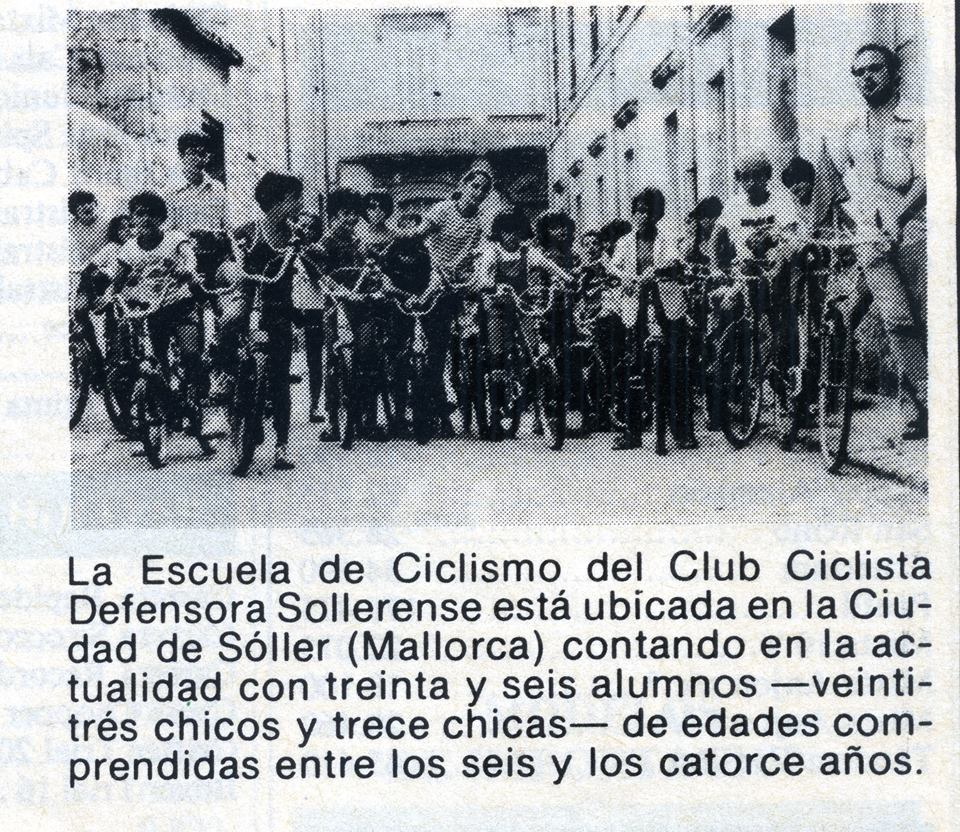 Escola Ciclisme C.C.D.S. - Any 1983.